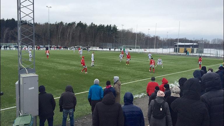 Kalmar FF möter IFK berga i årets första träningsmatch.