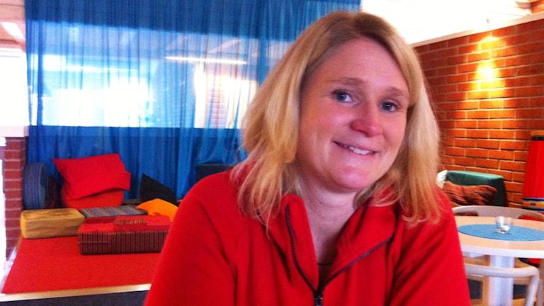 Frida Karlsson. Foto: Sofia Valve/Sveriges Radio