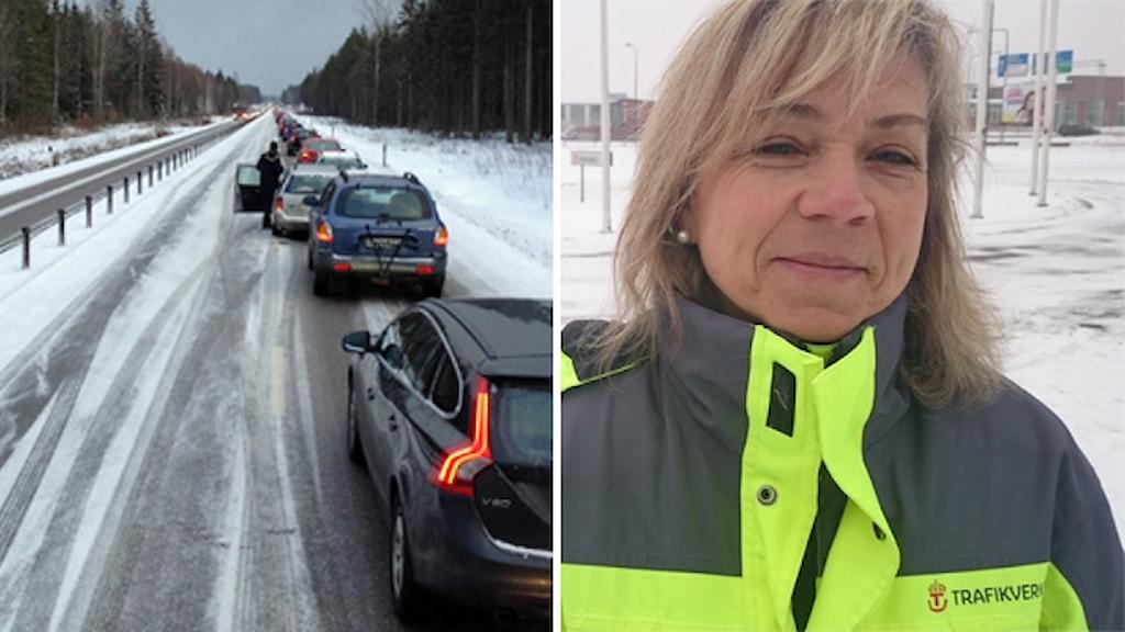 Bilkö och Susanne Östangård. Foto: Anders Almgren och Nick Näslund/Sveriges Radio