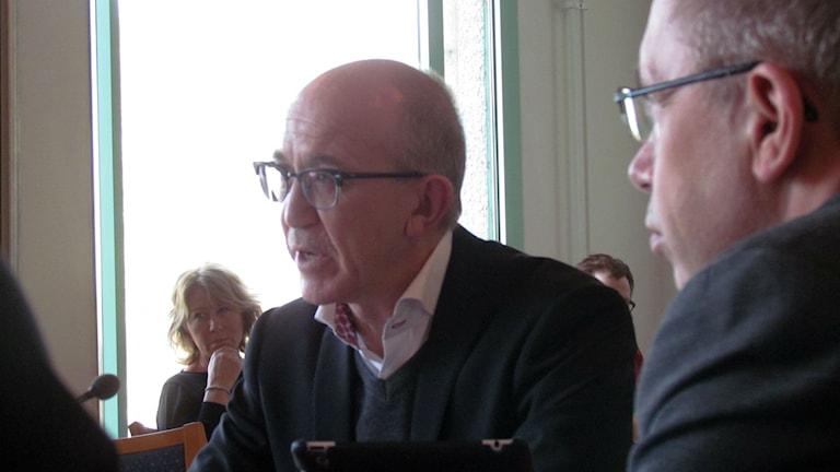 landstingsstyrelsens ordförande Anders Henriksson