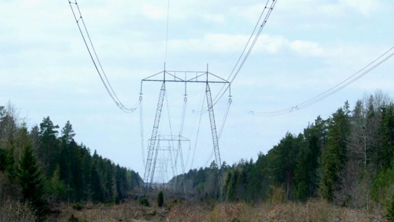 kraftledning nassjö, oskarshamn, svenska kraftnät