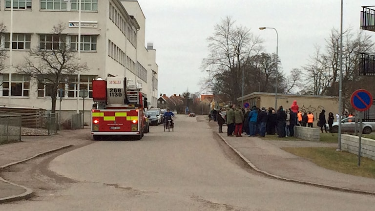 Arbetsförmedlingen i Kalmar har utrymts.