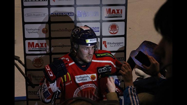 Fredrik Asplund VIK. Foto Patrik Wirengård/Sveriges Radio