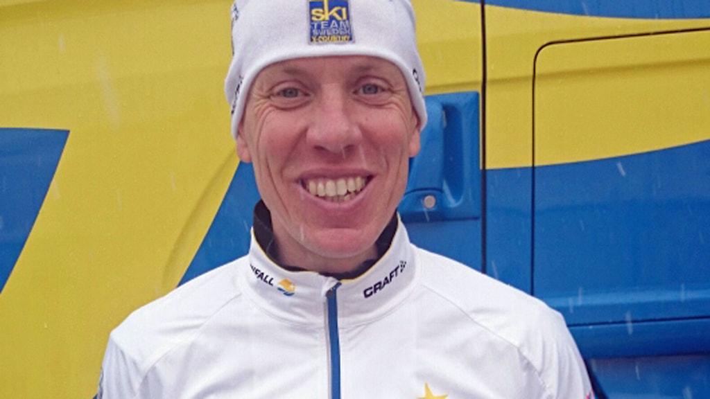 Mikael Jonsson, vallare från Högsby. Foto: Mikael Jonsson privat
