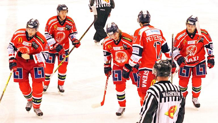 Västervik hockey. Foto: Patrik Wirengård/Sveriges Radio