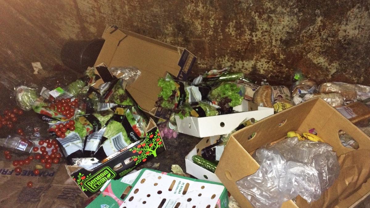 Sopcontainer, sopor, återvinning, dumpstring