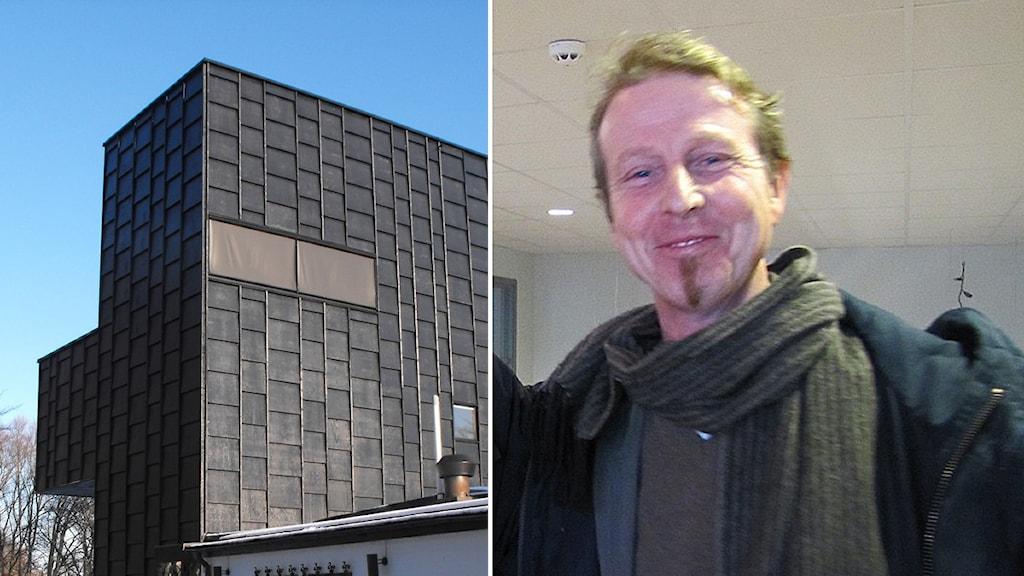 Bengt-Olof Johansson. Foto: Simon Leijnse och Erika Norberg/Sveriges Radio