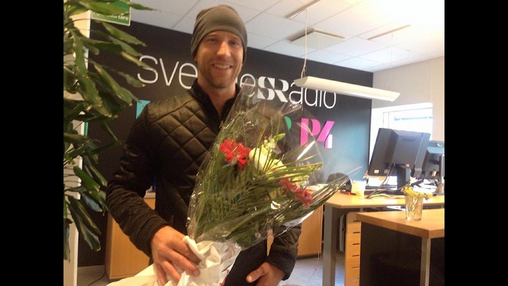 Henrik Rydström vann P4 Kalmars omröstning.