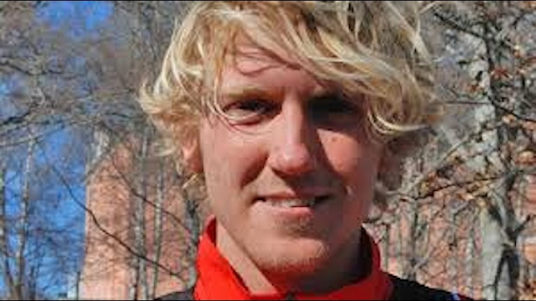 David Nilsson tog brons i nordiska mästerskapen i terränglöpning. Foto: SR
