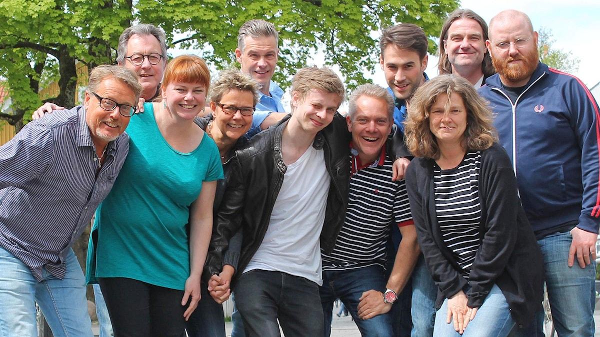 P4 Sommars medarbetare 2015. Foto: Emma Kvennberg/Sveriges Radio