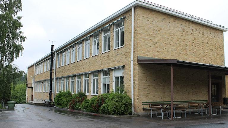 Skolan i Gullringen.