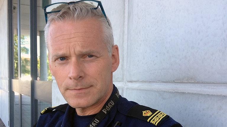 Polis Håkan Roupé.