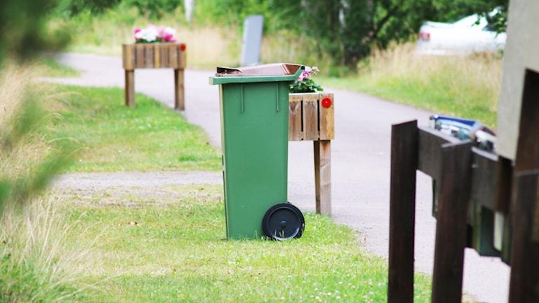 Soptunna. Foto: Nick Näslund/Sveriges Radio