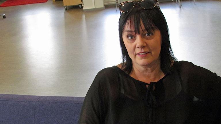 Åsa Jinder (Foto: Malin Flodén/Sveriges Radio)