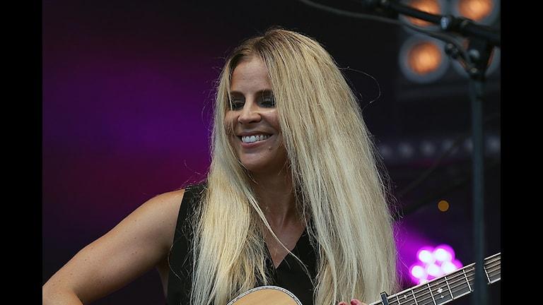 Lisa Miskovsky. Foto: Magnus Ekeros/Sveriges Radio