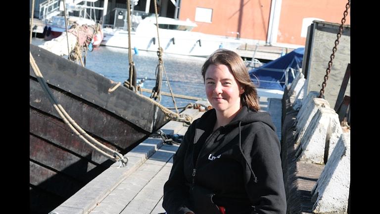 Elin Lindehoff. Foto: Tobias Sandblad/Sveriges Radio