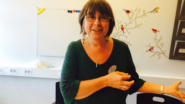 Eva Danielsson. Foto: July Auguststierna/Sveriges Radio