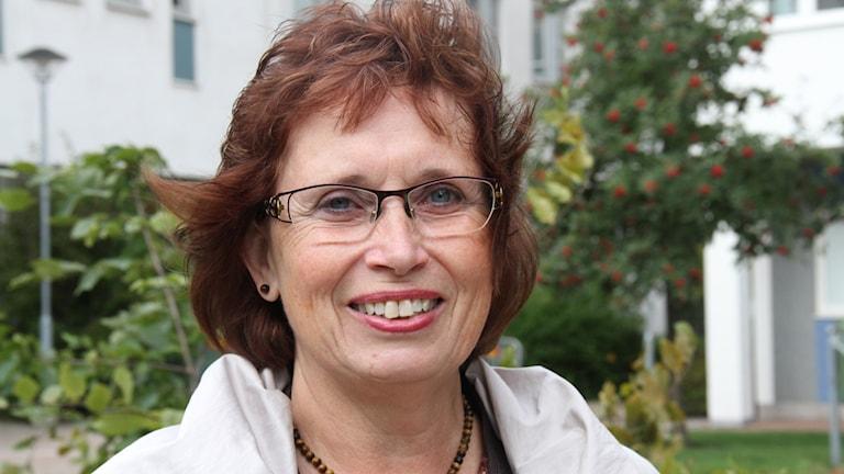 Gudrun Brunegård. Foto: Leif Johansson/Sveriges Radio