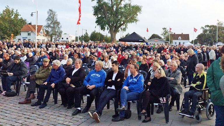 Publik. Foto: Lennart Palm/Sveriges Radio