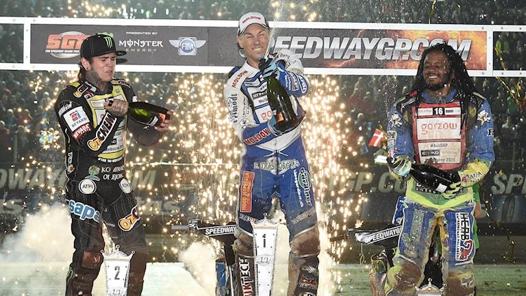 Speedway-GP. Foto: Mikael Fritzon/TT