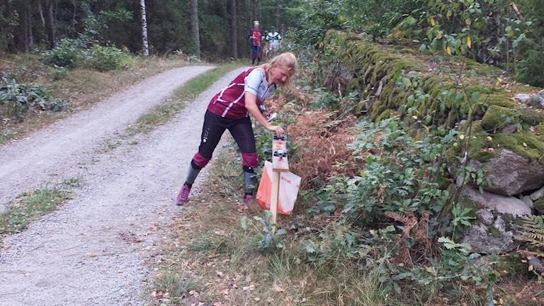 Anna Svensson från SOK Viljan vann D 40-klassen vid tävlingen i