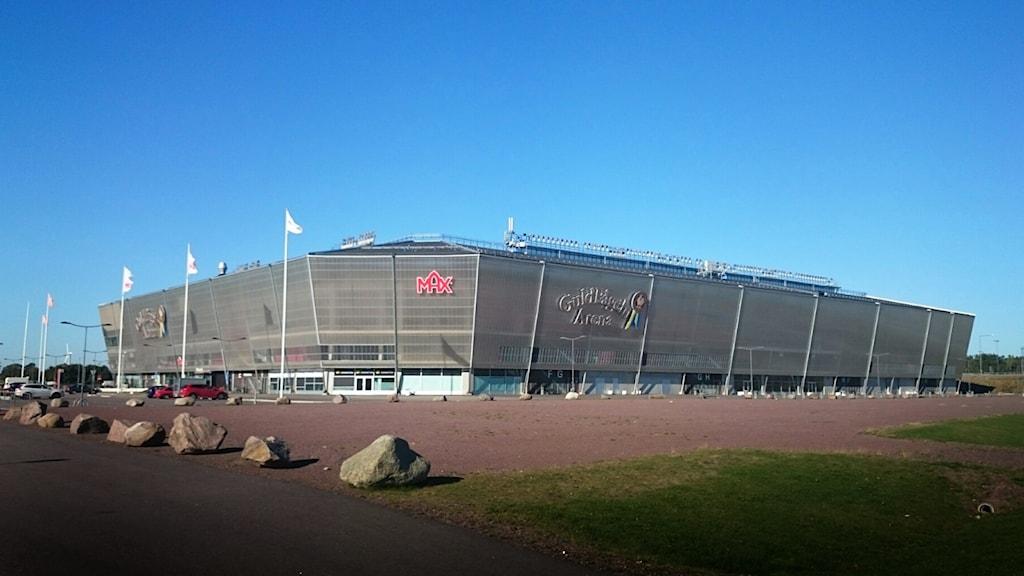 Guldfågeln arena. Foto: Nick Näslund/Sveriges Radio