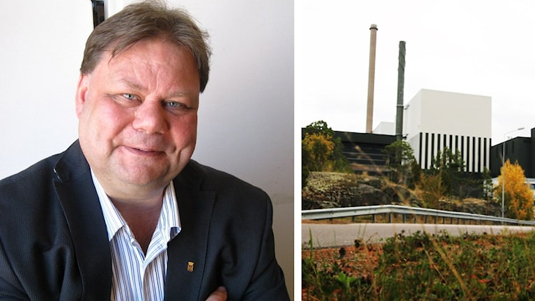 Peter Wretlund vädjar om effektskattens avskaffande. Foto: Tobias Sandblad och Nick Näslund/Sveriges Radio