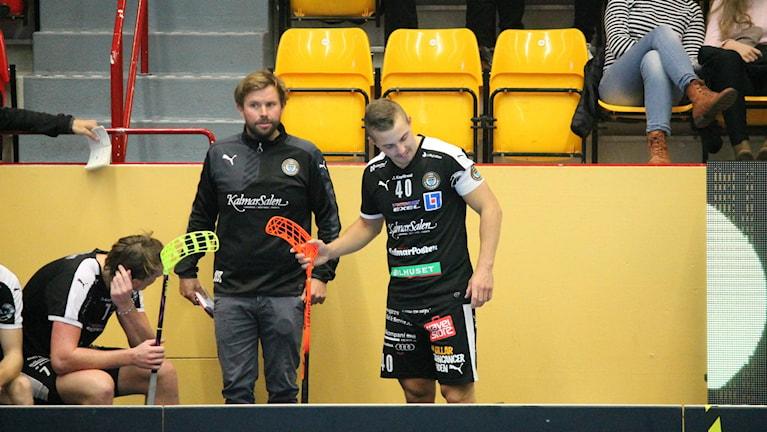 Johan Wittberg besviken efter 8-10 förlusten hemma mot Örebro / Foto: Faton Pasho SR