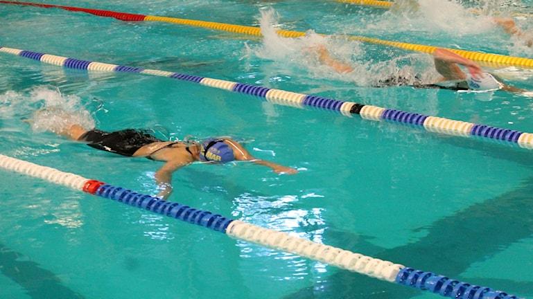 Miranda Arvidsson under sitt heat. Foto: Faton Pasho / SR