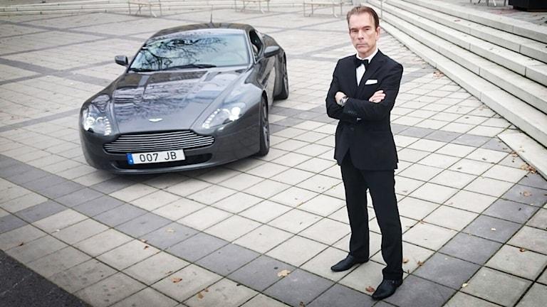 Gunnar James Bond Schäfer. Foto: Nick Näslund/Sveriges Radio
