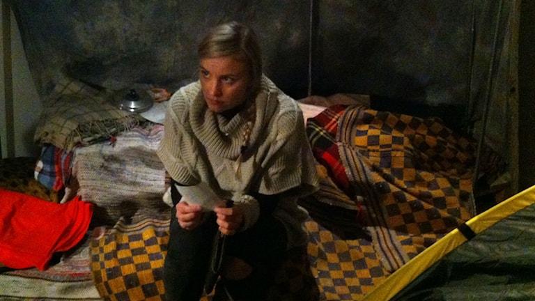 Agnes Hargne Wallander. Foto: Erika Norberg/Sveriges Radio