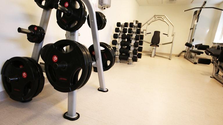 Gym. Foto: Nick Näslund/Sveriges Radio