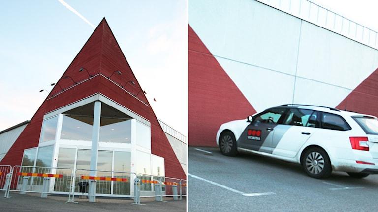 Entré till byggnad. Foto: Nick Näslund/Sveriges Radio