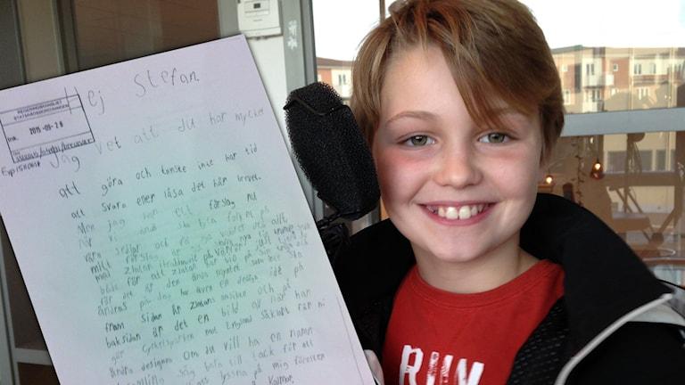 Rasmus Delborn Millward skrev brev till statsministern -- och fick svar.