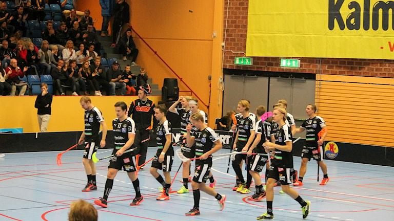 Kalmarsund vann hemma mot Visby med 5-2. Foto: Faton Pasho / SR