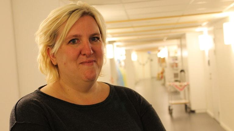 Sofia Holtsäter. Foto: Johanna Lindblad Ahl/Sveriges Radio.