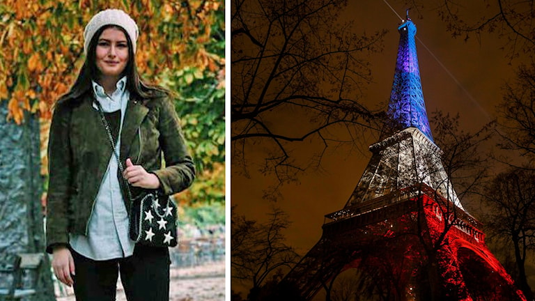 Lydia Walter i Paris. Foto: Privat/TT