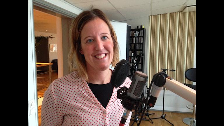 Emma Gustavsson. Foto: Magnus Krusell/Sveriges Radio