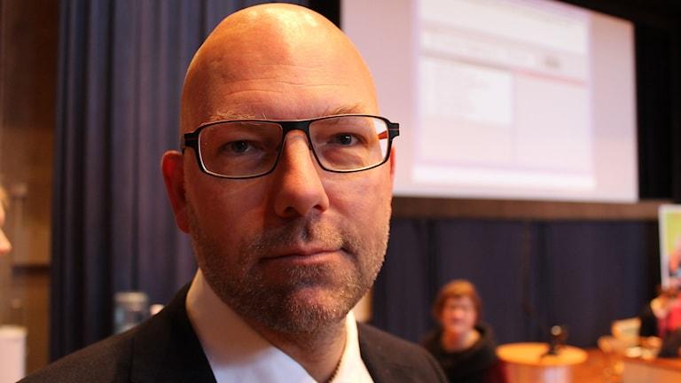 Peter Högberg (S). Foto: Johanna Lindblad Ahl/Sveriges Radio