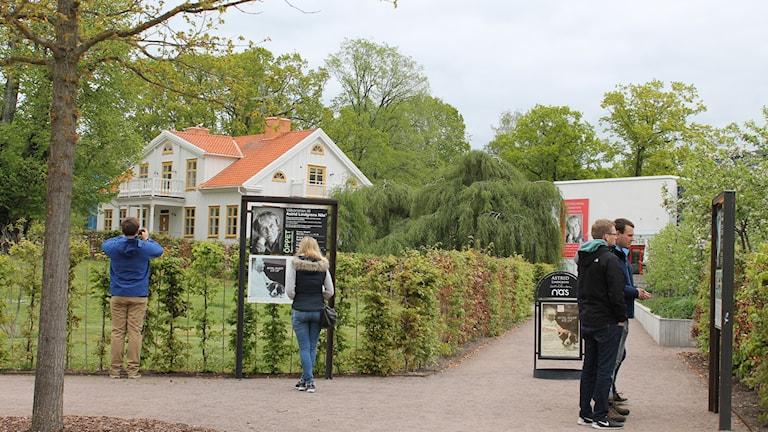 Astrid Lindgrens Näs med besökare