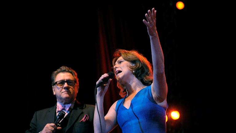Tommy Körberg och Helen Sjöholm. Foto: Janerik Henriksson/TT