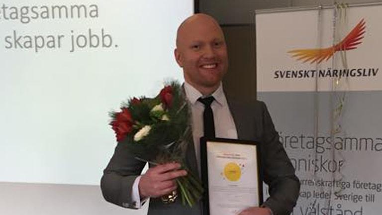 David Modig är Kalmar läns mest företagsamma person.