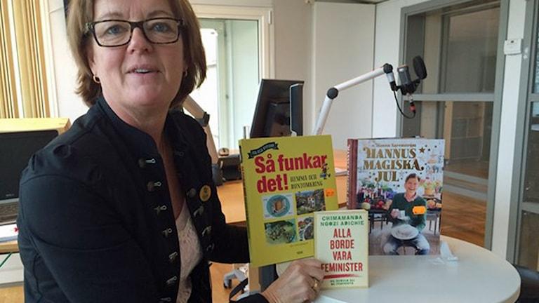 Katarina Jeansson från Dillbergska bokhandeln i Kalmar.