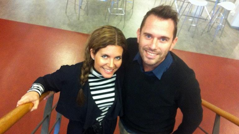 Anna och Martin Rydell.