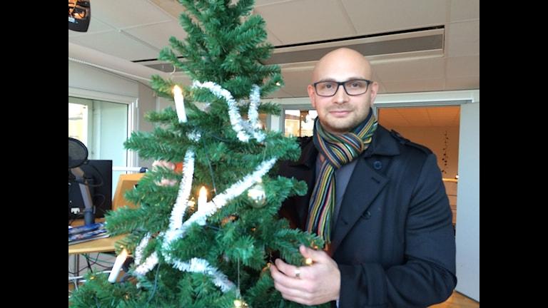 Alexander Krasnov, Unga Kris i Kalmar. Foto: Maria Skagerlind/Sveriges Radio