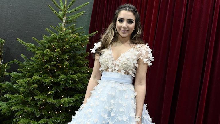 Gina Dirawi är julvärd i SVT 2015
