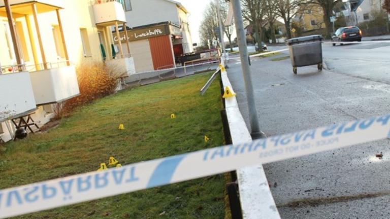 Brottsplats, mors Västervik 2014