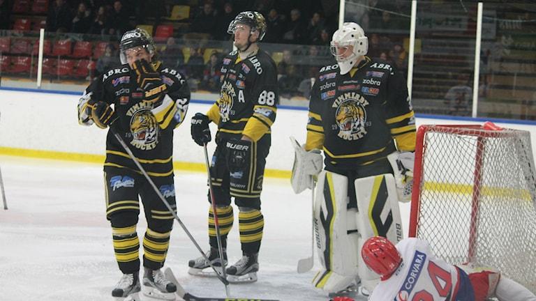 Andra raka förlusten för Vimmerby när Huddinge vann med 2-1. Foto: Faton Pasho / SR