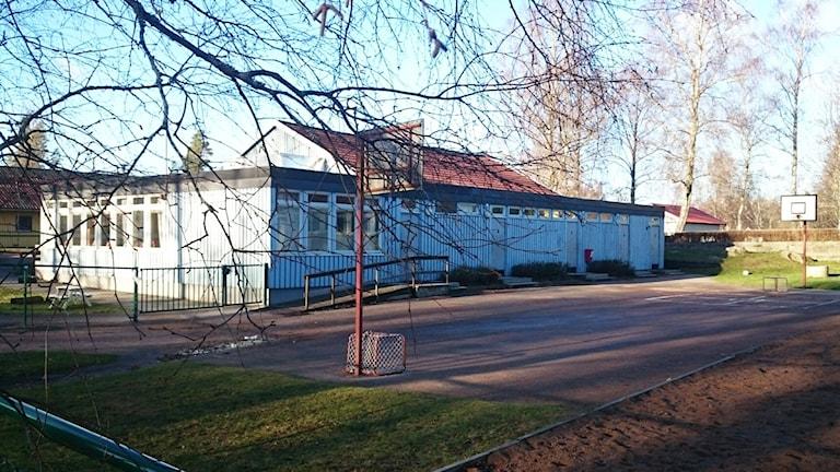Skolbyggnad. Foto: Nick Näslund/Sveriges Radio