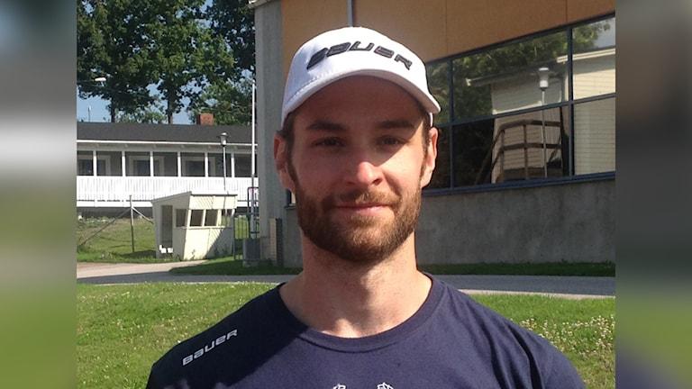 Daniel Ljungkvist. Foto: Göran Svenson/IK Oskarshamn